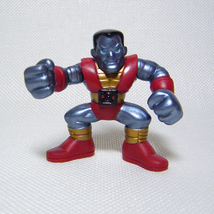 "Marvel Super Hero Squad COLOSSUS Dark Metal 2.5"" Wave 1 X-Men - $6.00"