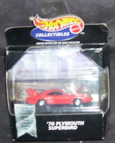 Hot Wheels Collectibles '70 PLYMOUTH SUPERBIRD NEW 1:64 1998