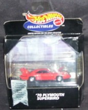 Hot Wheels Collectibles '70 PLYMOUTH SUPERBIRD NEW 1:64 1998 - $21.96