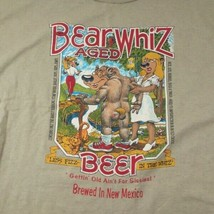 Beer Whiz Aged Beer Vintage Single Stitch XL T-shirt Less Fizz in the Wh... - $48.50