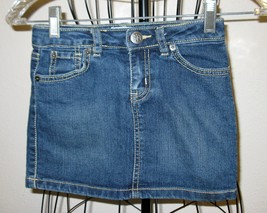 Precious Blue Jean Skirt by Place Child Size 6 Nice! #X35 - $8.99