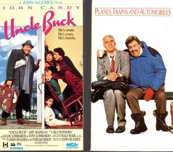 2 - John Candy (VHS Videos) -Uncle Buck & Plains, Trains and Automobiles - $7.00