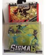 GI Joe Sigma 6 Mission:Unseen Enemy Hi-Tech Zartan H.O.U.N.D. Sentry Sna... - $11.87
