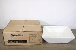 Comllen Above Counter White Porcelain Ceramic Bathroom Vessel Sink Art Basin - $69.29