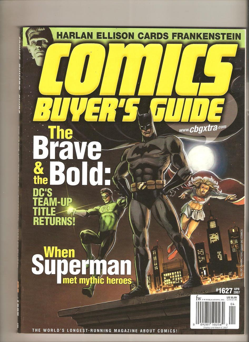 Brave and the Bold - Comics Buyer's Guide # 1627(2007)