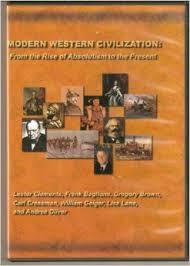 Modern Western Civilization: From the Rise of Absolutism to the Present (DVD)