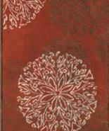 Habidecor  Red Steppe Rug  - $75.00