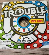 Hasbro POP-O-MATIC TROUBLE Board Game Brand New in Box - $13.86