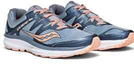 Saucony Guide ISO Size 7 M (B) EU 38 Women's Running Shoes Blue Orange S10415-5