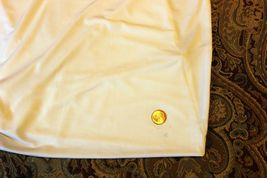 NEW EXPRESS $35 WHITE ASYMMETRIC DRAPED LINED SLEEVELESS DRESSY TOP BLOUSE S image 6