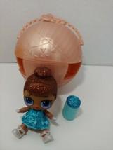 LOL Surprise Doll Glam Glitter MISS MS BABY Big Sister blue dress +ball ... - $4.94
