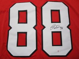 PATRICK KANE / AUTOGRAPHED CHICAGO BLACKHAWKS RED CUSTOM HOCKEY JERSEY / COA image 3