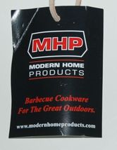 MHP WB3B Premium Grill Brushes Wood Handle Brass Bristles Scraper image 3
