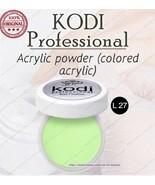 NEW Kodi professional Colored acrylic L27 4,5 g. Acrylic Powders - $15.84