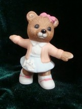 Homco Bear with Poodle Skirt -- # 1421 -- NO BOX - $4.99