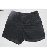 Zena Jeans Black Shorts Sz 14 - $10.99