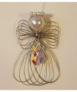 Autism Awareness Angel Ornament Handmade - $8.00