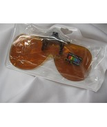sunglass clip-on BluBlk New Wear Over Rx Glasse... - $7.95