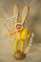 Vintage Inspired Spun Cotton, Bunny Child no. 161 image 1