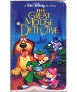 3  Walt Disney Classic VHS Videos- Antz, The Great Mouse Detective, & Al... - $6.95