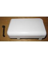 White 1632 Free Arm Bobbin Case Door & Door Spring - $10.00