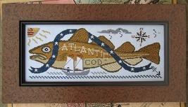 Atlantic Cod cross stitch chart Carriage House Samplings - $10.80