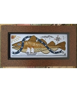Atlantic Cod cross stitch chart Carriage House Samplings - $10.80
