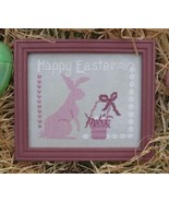 Happy Easter cross stitch chart Designs by Lisa - $6.00