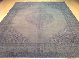 9 x 12 CW 377 Hand Knotted Traditional Persian Over-Dyed Design Rug 100%... - $1,521.00