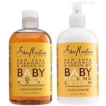 Shea Moisture Calm and Comfort Raw Shea Chamomile and Argan Oil Baby Head to Toe