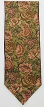 Table Runner Green Taupe Burgundy Floral Elegant Old World Design 12 X 7... - $69.29