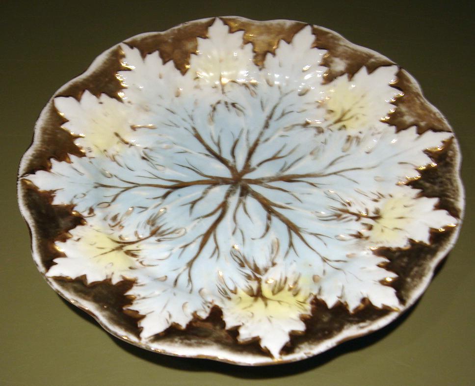 Old paris plate