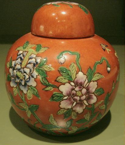 Japanese covered jar 1