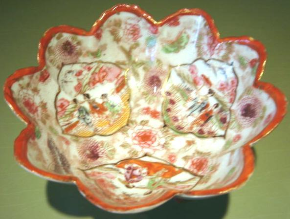 Oriental footed bowl 1