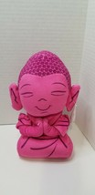 """Buddha Plush with Soothing Musical Sound 10"""" Toy pink  - $7.90"""