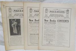 The Magic Bulletin Vol. 7 Numbers 5,6 &12 - $98.00