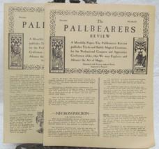 The Pallbearers Review 1965 Nov. & Dec. - $24.50