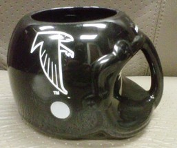 Falcons coffee cup, black - $12.50