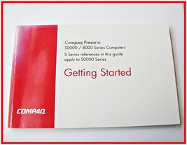 COMPAQ Presario S0000/8000 Series COMPUTERS User GUIDE Manual Booklet EUC  - $10.69
