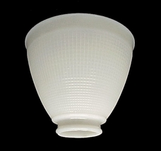 IES 6 in Reflector Floor Table Lamp Shade White Glass  - $17.95