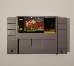 Taz-Mania Super Nintendo 1993 SNES Looney Tunes Video Game Cartridge - $6.88