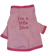 "Dogs ""I'm a little Diva"" Pullover Shirt - $16.00"