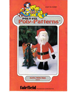 Poly-fil Pattern  D211 stuffed toy Santa Christmas Tree table mantle dec... - $7.77