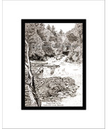 Peggy's Point, Kaaterskill Creek, Limited Edition, Matted, Pen and Ink P... - $34.00