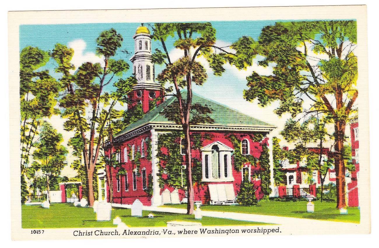Pc christ church va linen red