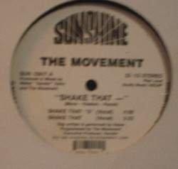 "The Movement - ""Shake That ___"" - Sunshine Records SUN 12817"