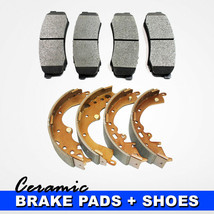 Ceramic Brake Pads & Shoes Package Fits Toyota Hilux 6 Lugs [FRONT/REAR] - $45.87