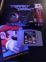 Perfect Dark (Nintendo 64, 2000) US Version Game, original box  FREE SHI... - $27.26