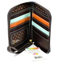 Chala Handbags Faux Leather Cactus Cacti  Zip Around Wristlet Wallet image 3