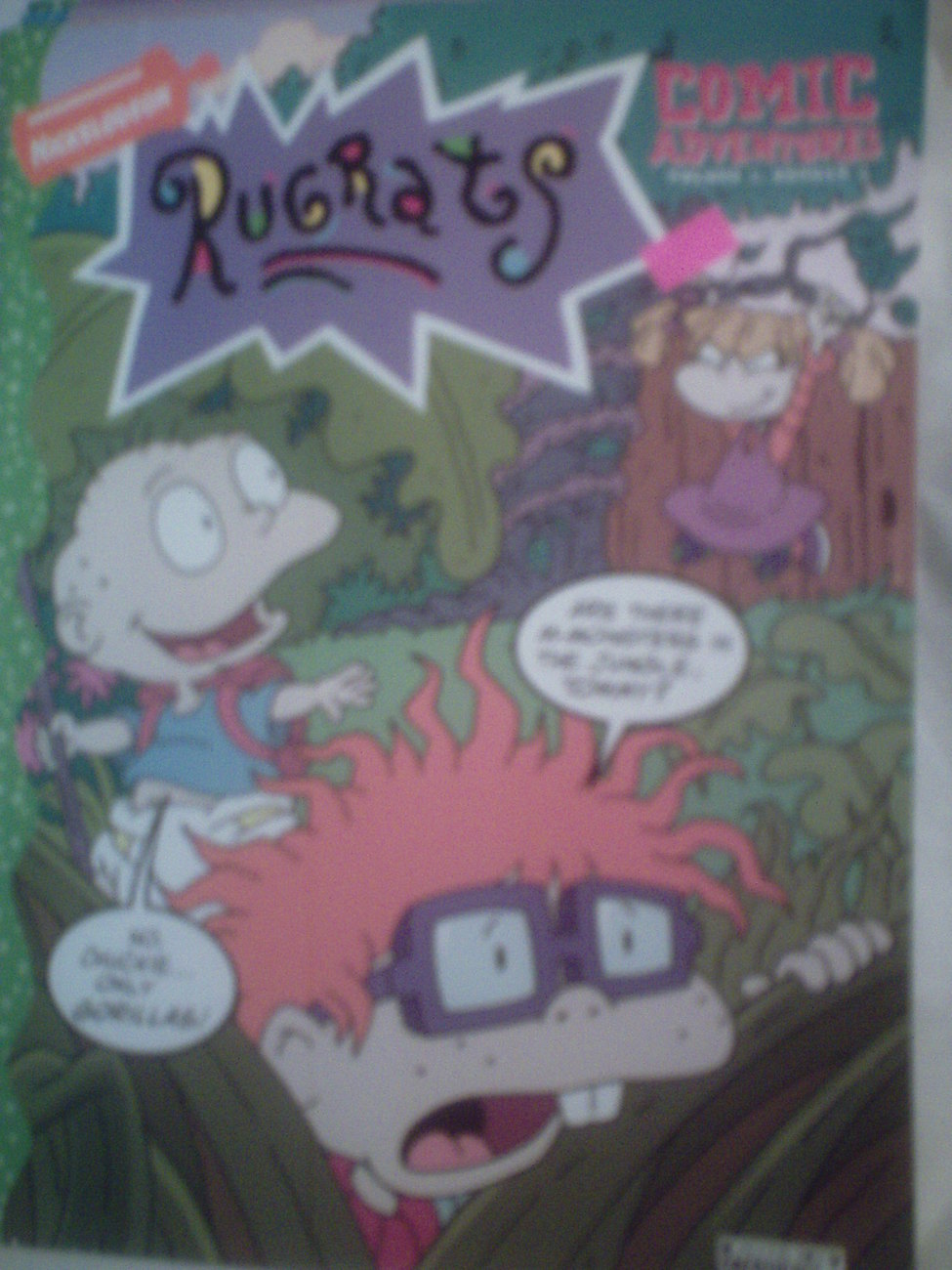 Nickelodeon Rugrats Comic Adventures Magazine  Vol. 1 Number 2 Dec.1997